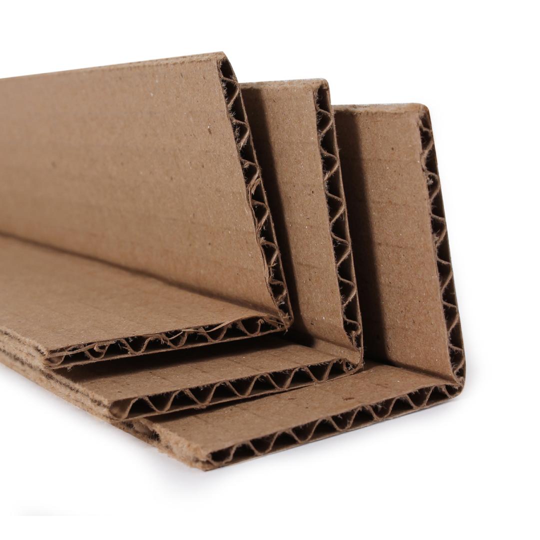 esquinero de carton corrugado
